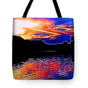 Gods Water Colors Tote Bag