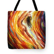 Gold Falls Tote Bag
