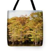 Golden Bayou Tote Bag