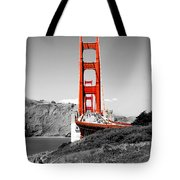 Golden Gate Tote Bag by Greg Fortier