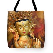 Golden Sculpture Tote Bag