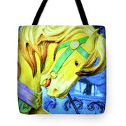 Nyc Golden Steed  Tote Bag