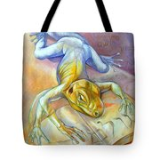Golem Tote Bag by Filip Mihail