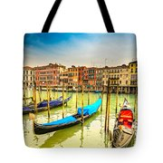 Gondolas In Venice - Italy  Tote Bag