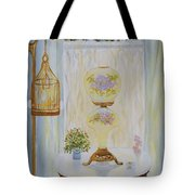 Gone With The Wind Lamp Tote Bag