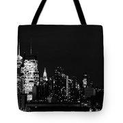 Good Night New Yorker Tote Bag