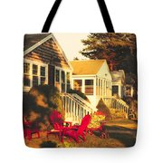 Goose Creek Beach Cottages Tote Bag