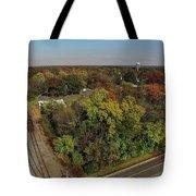 Gordonsville Virginia Tracks Tote Bag