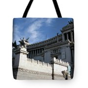 Government Building Rome Tote Bag