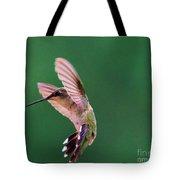 Grace Of A Hummingbird Tote Bag