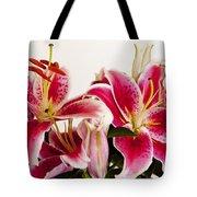 Graceful Lily Series 10 Tote Bag