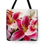 Graceful Lily Series 11 Tote Bag