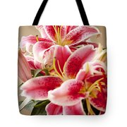 Graceful Lily Series 13 Tote Bag