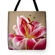 Graceful Lily Series 14 Tote Bag