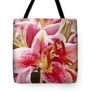 Graceful Lily Series 15 Tote Bag