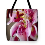 Graceful Lily Series 17 Tote Bag