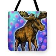 Graffiti Moose Tote Bag