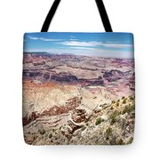 Grand Canyon View From The South Rim, Arizona Tote Bag