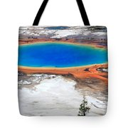 Grand Prismatic Spring Tote Bag