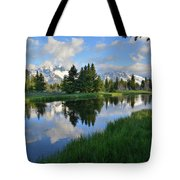Grand Teton Reflection Tote Bag