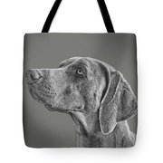 Gray Ghost Tote Bag by Larry Linton
