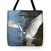 Great Egret Wings Tote Bag