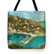 Greek Island Tote Bag