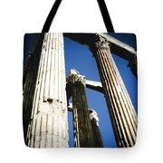 Greek Pillars Tote Bag