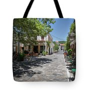 Greek Village Plaza Tote Bag