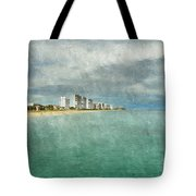 Green And Bluie Tote Bag