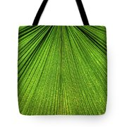 Green Lines Tote Bag