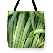 Green Onion Market Bergen Tote Bag