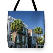 Columns By The Sea Tote Bag
