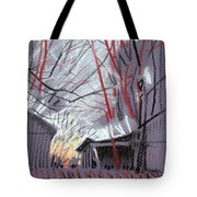 Grey Evening Tote Bag