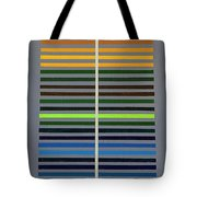 Grey Space Tote Bag