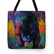Grounded - Black Bear Tote Bag