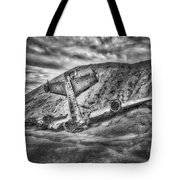 Grounded Plane Wreck Tote Bag