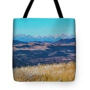 Grouse Mountain And Sangre De Cristo Tote Bag