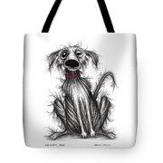 Grumpy Dog Tote Bag