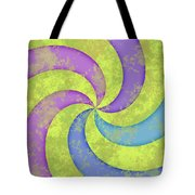 Grunge Swirl Tote Bag
