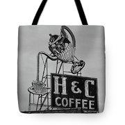 H C Coffee Tote Bag