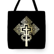 Habesha Holy Cross Tote Bag