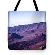 Haleakala Sunrise On The Summit Maui Hawaii - Kalahaku Overlook Tote Bag by Sharon Mau