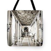 Hallway Of Elegance Tote Bag