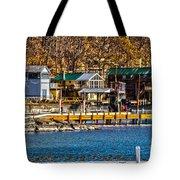 Hammondsport Docks Tote Bag