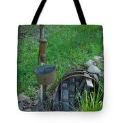 Hand Pump In The Spring Tote Bag