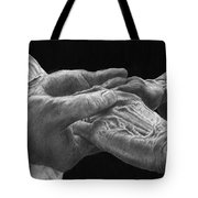 Hands Of Love Tote Bag by Jyvonne Inman