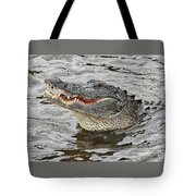 Happy Florida Gator Tote Bag