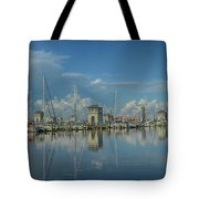 Harbor Morning Tote Bag