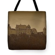Harburg Castle - Digital Tote Bag